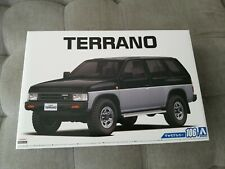 Aoshima 1/24 106 1991 Nissan Terrano Pathfinder D21 V6-3000 R3M With Left...