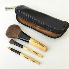 100% Genuine Bobbi Brown Deluxe Mini Brush Set Travel Size Excellent Condition