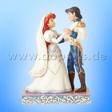 "Disney Traditions ""Wedded Bliss"" (Arielle & Eric Hochzeitsfigur) - Jim Shore"