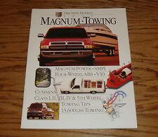 Original 1995 Dodge Truck Magnum Towing Sales Brochure 95 Ram