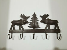 Moose Metal Wall Mounted Coat Hanger