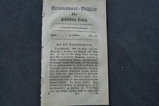 1823 Erinnerungsblätter 40 / Krieg in Spanien Rege des Königs 2