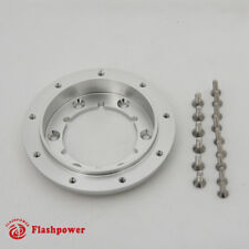 "1/2"" Satin Steering Wheel Spacer Kit for 9 hole Steering Wheel to 6 hole Adapter"