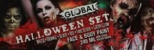 Global Colours 6 Face And Body Paint Halloween Set 240mL Make Up Kit