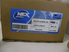 114mm X 600 milioni NERO NEX Premium trasferimento termico multifunzione X6 ROTOLI TOSHIBA TEC B572