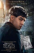 "Fantastic Beasts movie poster  - Ezra Miller - 11"" x 17"" - Credence"