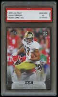 CHASE CLAYPOOL 2020 LEAF DRAFT 1ST GRADED 10 ROOKIE CARD RC STEELERS/NOTRE DAME