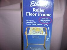 """NEW ELBESEE FLOOR TAPESTRY ROLLER FRAME CROSS STITCH  ONE 24"""" X 16"""" FREE UK DEL"""