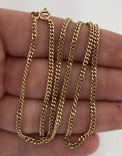 7.6 Grams 18K 750. 18ct Gold Heavy Necklace Chain