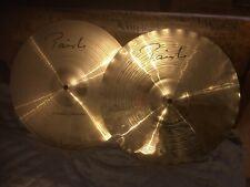 Paiste Signature 14 Precision Sound Edge hi hat cymbals excellent condition