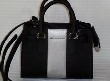 Michael Kors Dillion Black Siver XS Saffiano Leather Crossbody 7 x 5 x 2.50 NWT