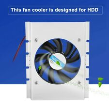 DC 12v 4pin Cooling Fan Cooler 80mm for PC Hard Disk Drive HDD Radiator 5000rpm