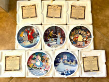 Disney's Treasured Moments Collector Plates, Knowles Set of 5 Mint Coa