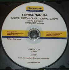 NEW HOLLAND CR6090 CR7090 CR8080 CR8090 CR9090 4A COMBINES SERVICE REPAIR MANUAL