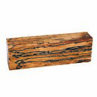 """Tamarind Spalted Stabilized 1"""" x 1-1/2"""" x 5"""" Knife Scale 1-piece"""
