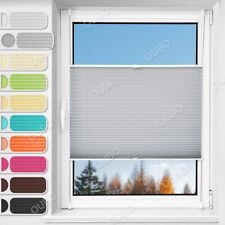 Plissee ohne Bohren klemmfix Jalousie Rollo für Fenster Tür Plisee Crush Faltbar