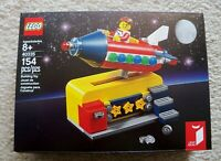 LEGO Ideas - Rare Exclusive - 40335 Space Rocket Ride - New & Sealed