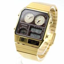 CITIZEN ANA-DIGI TEMP JG2103-72X Gold Men's Watch From Japan NEW