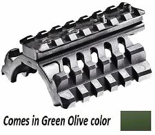 TRM3-S CAA Tactical OD Green Polymer 3 Picatinny Rails For The Hand Guard
