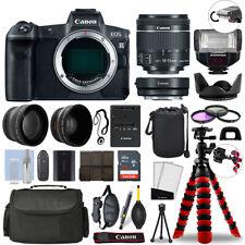 Canon EOS R Mirrorless cámara y 18-55mm STM + 32GB 3 Lentes Último Accesorio Kit