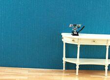 50x30 cm (17,93EUR/m²) Papier Tapetten für 1:12  Puppenhaus. blau