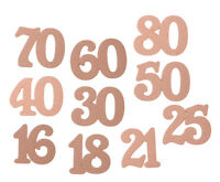MDF Wood Numbers Coming Of Age Birthday Numbers Celebration Joined Numbers Plain