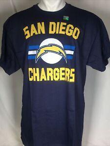 San Diego Chargers NFL Men's Navy Blue Logo T-Shirt XL NWT