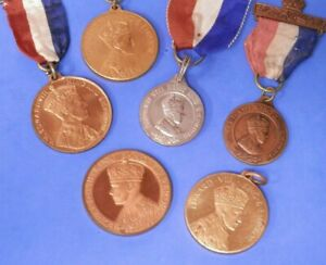 Edward VIII Coronation Medals 1936 -1937 King and Emperor Selection See Menu