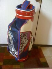 Looney Tunes Bugs Multi-Color Leather Golf Caddy Bag-Wb Cartoons, never used