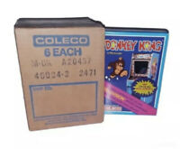 1981 Nintendo Donkey Kong New in Box (Unopened) WATA VGA ready w Mario Brothers