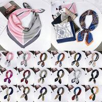 Bag Handle Wraps Small Vintage Women Square Scarf Head Neck Wraps Hair Tie Band