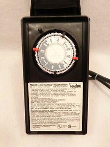 Malibu Intermatic ML60T Low Voltage Transformer 60W Lighting Timer SE2