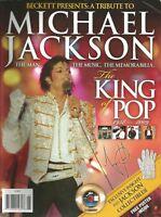 Michael Jackson Beckett Tribute 1958-2009 Magazine Man Music Memorabilia King Po