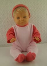 "Doll Clothes Handmade Pink Sleeper with Hat Fits 16""-18"" Doll"