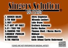 Singers Solution NEW COUNTRY #453-#452-#451 +#450 Karaoke  CDG  36-SONGS-TIN MAN