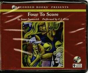 FOUR TO SCORE by JANET EVANOVICH ~ UNABRIDGED CD AUDIOBOOK
