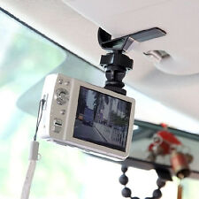 Car Sun Visor 1/4 Screw Mount Holder Tripod for Gopro Sport Camera GPS Universal