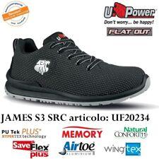 UPOWER SCARPE ANTINFORTUNISTICA JAMES S3 SRC UF20234 U-POWER IDROREPELL. TRASP.