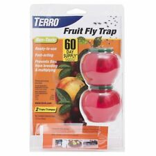TERRO 2-Pack Fruit Fly Trap , New, Free Shipping