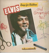 "Elvis Presley ""Sings For Children And Grownups Too"" 1978 LP ""Teddy Bear"" ""Angel"""