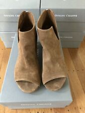 Officine Creative Womens Adele Open Toe Boots Suede Size 39 Or 40 Brand New $590