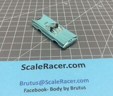 Turquoise Batmobile #1385 Body for Aurora Dash Tjet type Chassis