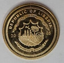 14K Mini Solid Gold Coin Wold's Smallest Gold Coin American Mint Krugerrand