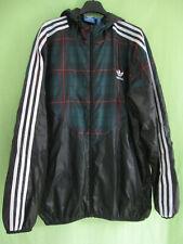 Veste Adidas capuche Originals Coupe vent style tartan Homme Jacket Vintage - L