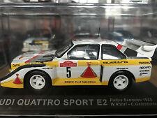 1:43 Audi Quattro S1 E2 Sanremo Rally ROHRL 1985 #5 DeAgostini