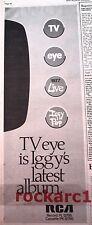 """IGGY POP TV Eye 1978 UK  Press ADVERT 16x6"""""""