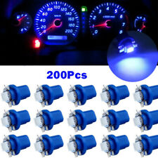 200 X T5 B8.5D 5050 1SMD LED Dashboard Dash Gauge Instrument Interior Blue Light