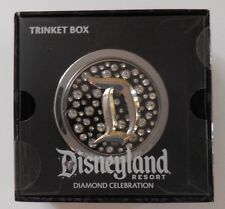 Disney Disneyland 60th Anniversary Diamond Celebration Trinket Box NEW