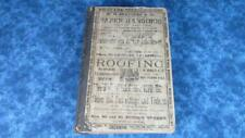 1893 Lowell Massachusetts Directory, 1093 Pages, Very Nice
