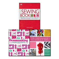 The Sewing Book,Dressmaking,The Dressmaker's Technique Bible 3 Books Set